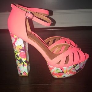 Colorful and Fun high heels